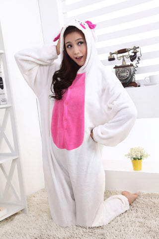 Love Rabbit Kigurumi Onesie