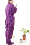 Purple Footie Pajama