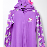 Purple Hello Kitty Footie Pajama