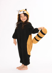 Kids Red Panda Kigurumi Onesie