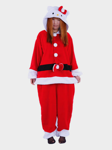 Hello Kitty Santa Kigurumi Onesie