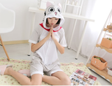 Summer Grey Cat Kigurumi