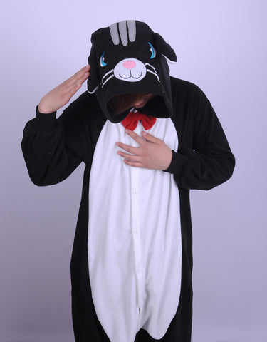 Black Cat Kigurumi Onesie