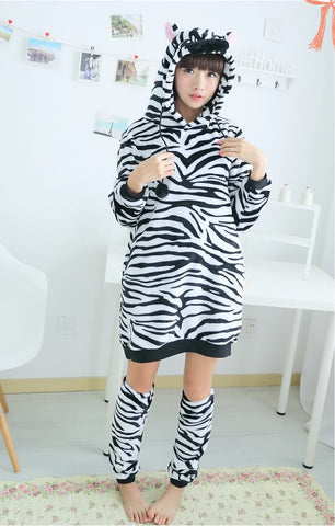 Zebra Kigurumi Dress