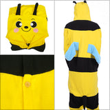 Bee Kigurumi Onesie (Yellow/Pink)
