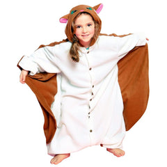 Flying Squirrel Kids Kigurumi Onesie