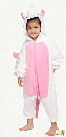Unicorn Kids Onesie (Blue/Pink)