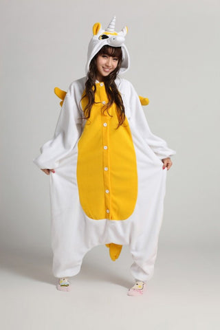 Golden Unicorn Kigurumi Onesie