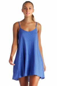 Beach Blue Mini Knit Dress