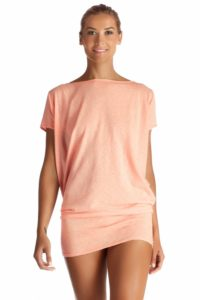 Lovely Blush Knit T-Back Tunic