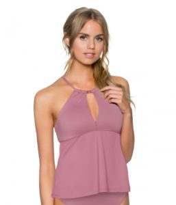 Mauvelous Mirage Tankini Top