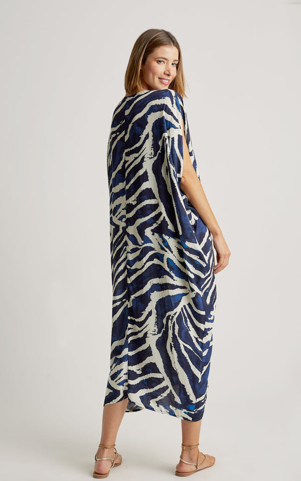 LENNY NIEMEYER ARAGUAIA GIPSY CAFTAN COVER-UP