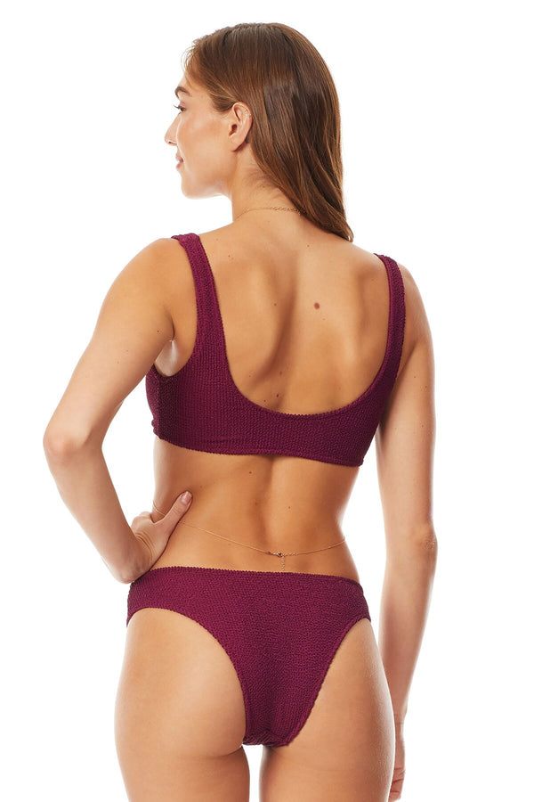 Tori Praver Wineberry Lania Pucker Cheeky Bottom