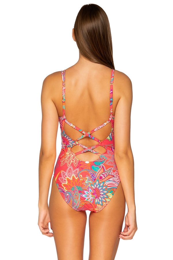 SUNSETS ISLAND BLISS VERONICA ONE PIECE