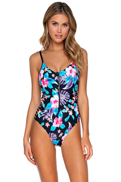 Sunsets Aloha Borderline One Piece