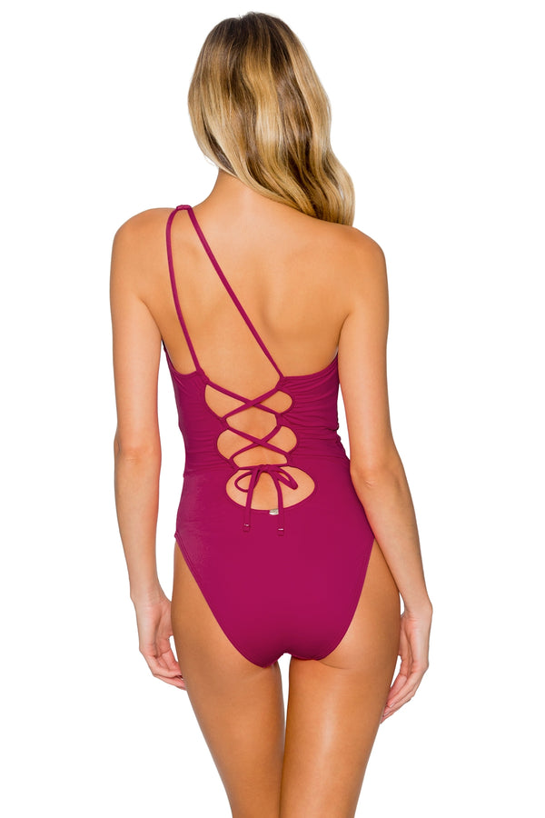 Sunsets Pink Poppy Luna One Piece