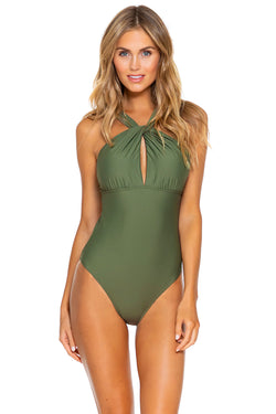 Sunsets Olive Grace One Piece