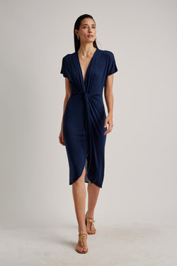 LENNY NIEMEYER NORTH MIDI KNOT COVERUP DRESS
