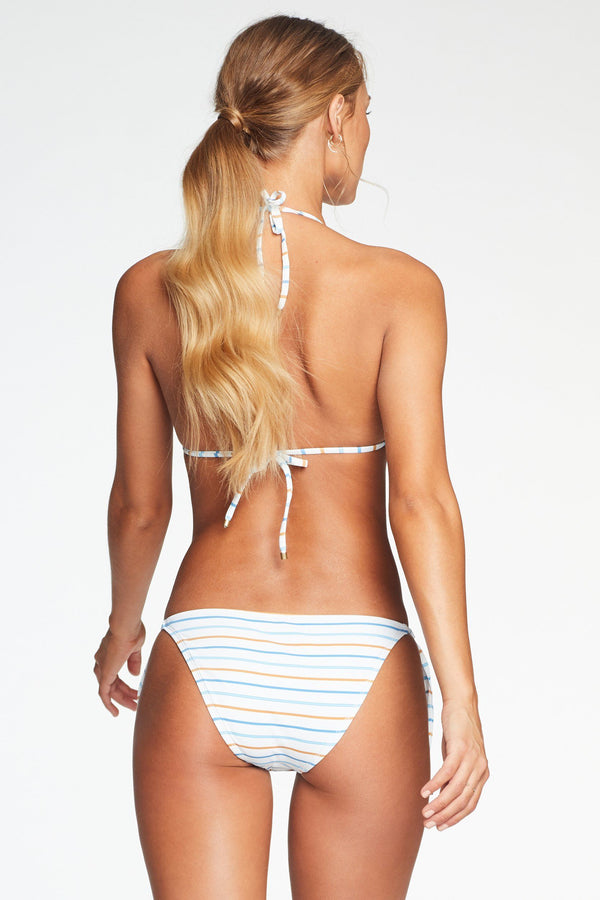 Vitamin A Palm Springs Stripe Natalie Miter Stripe Tie Side Bottom