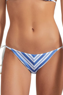 Vitamin A Regatta Stripe Natalie Miter Stripe Tie Side Bottom