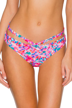 Sunsets Kaleidoscope Stella Strappy Hipster Bottom