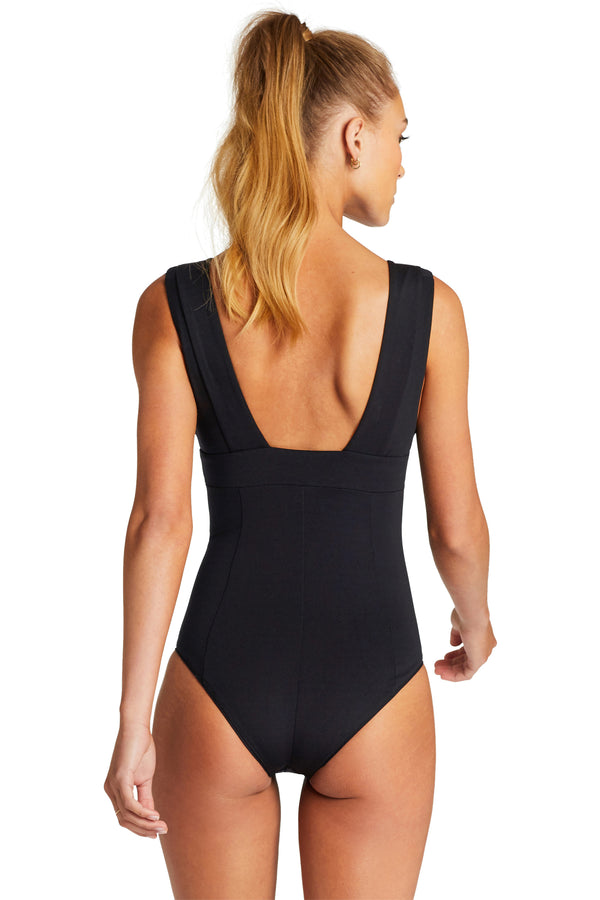 Vitamin A Black BioSculpt Aria Bodysuit One Piece