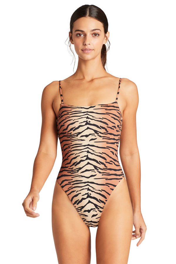 Vitamin A Ziva Jenna Bodysuit One Piece