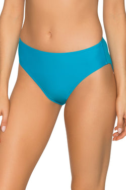 Sunsets Poolside Blue Basic Bottom