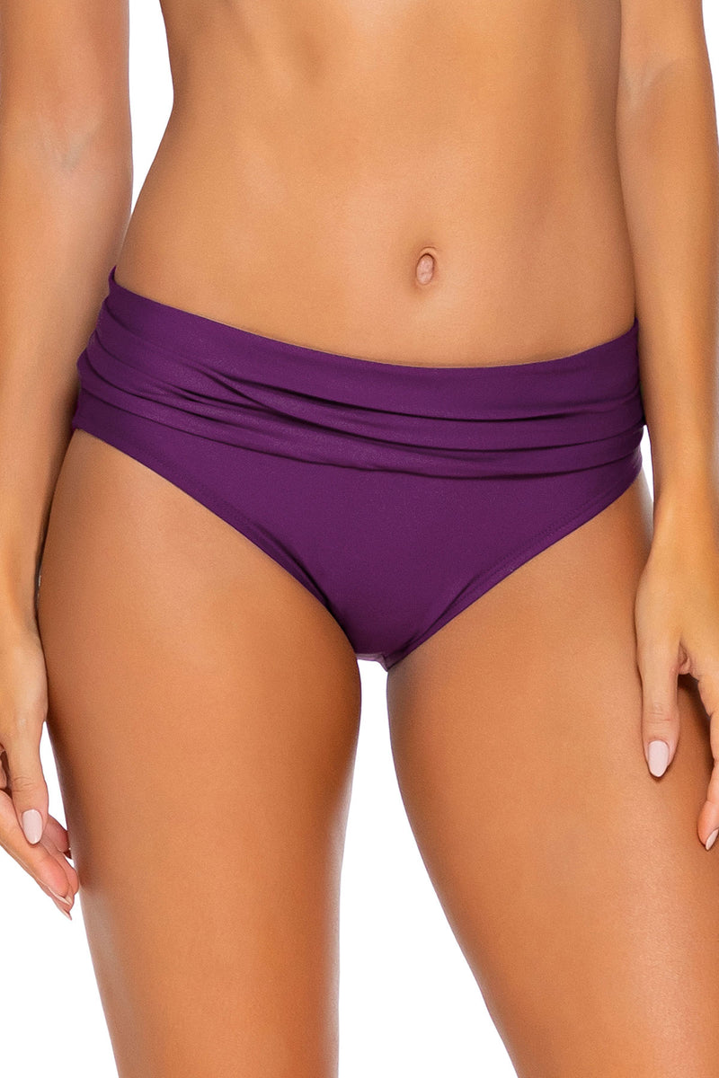Sunsets Deep Plum Unforgettable Bottom