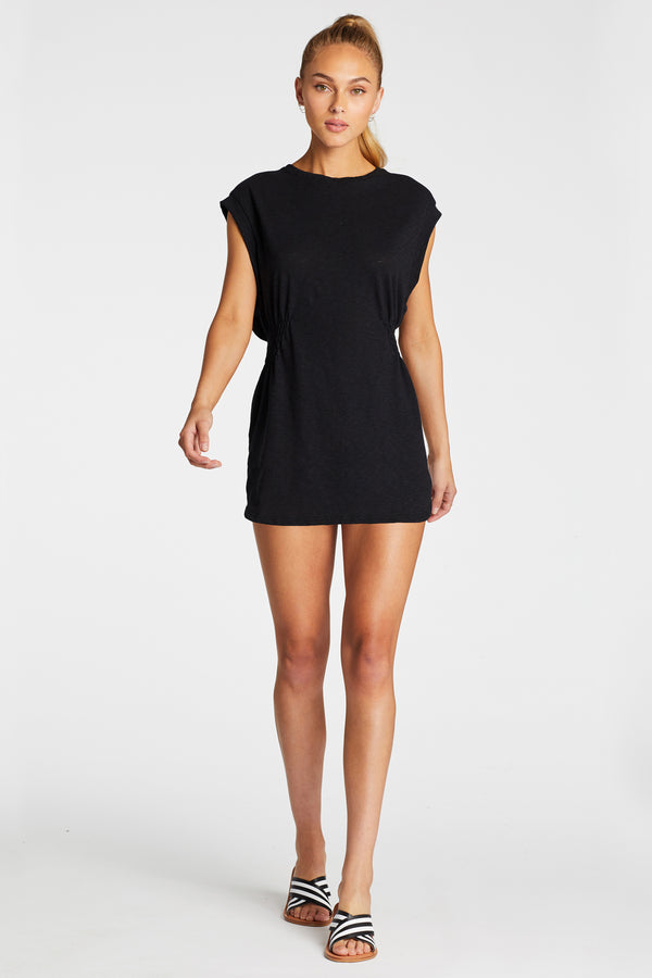 Vitamin A Black EcoCotton Swami Shirt