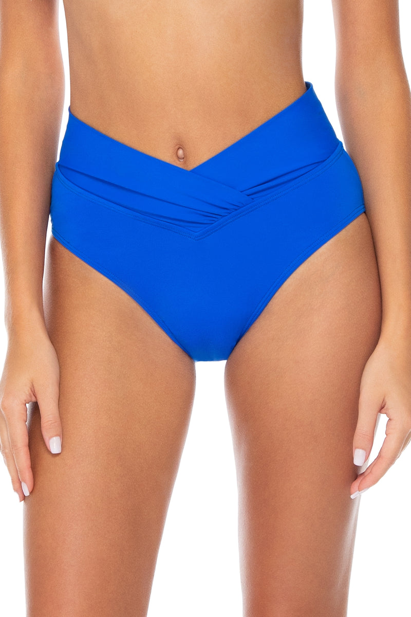Sunsets Imperial Blue Summer Lovin' V-Front Bottom
