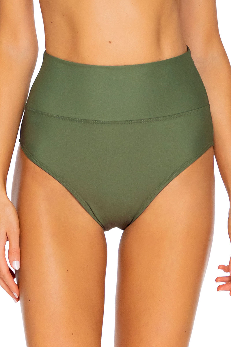 Sunsets Olive Hannah High Waist Bottom
