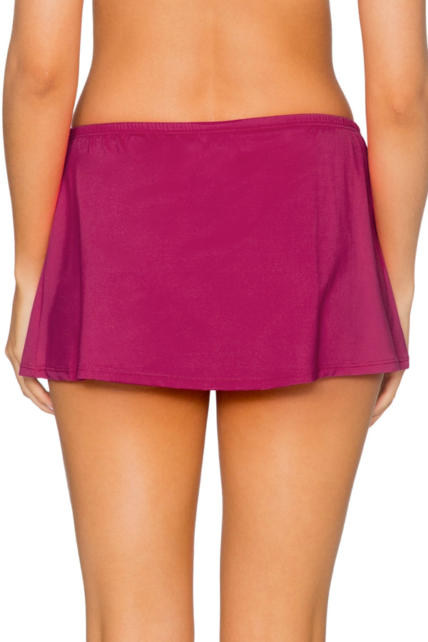 Sunsets Pink Poppy Kokomo Swim Skirt Bottom