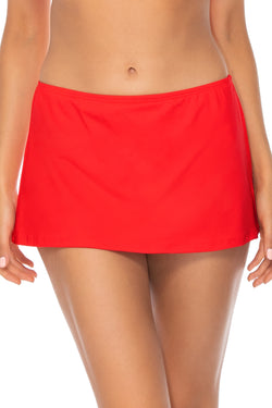 Sunsets Scarlet Kokomo Swim Skirt Bottom