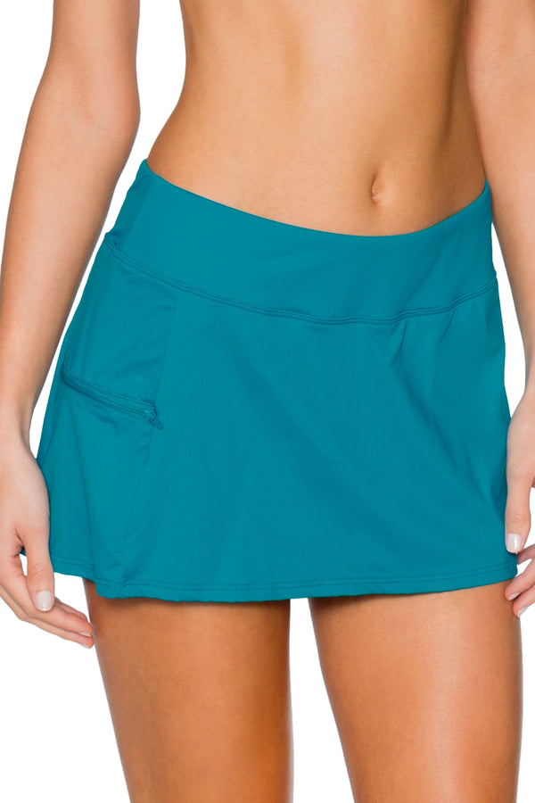 Sunsets Oceana Sporty Swim Skirt Bottom
