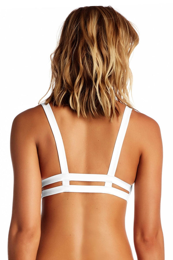 Vitamin A White EcoLux™ Neutra Bralette Top