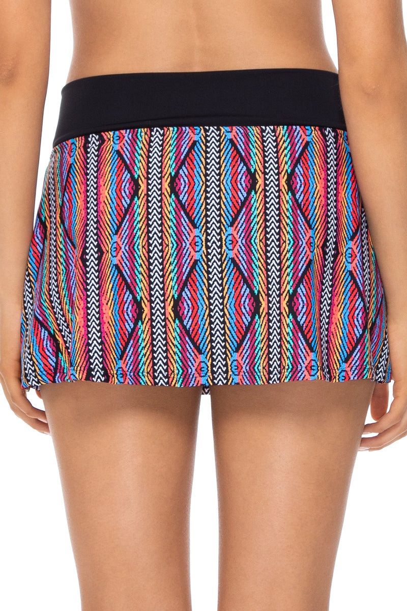 Sunsets Playa Stripe Summer Lovin' Swim Skirt Bottom
