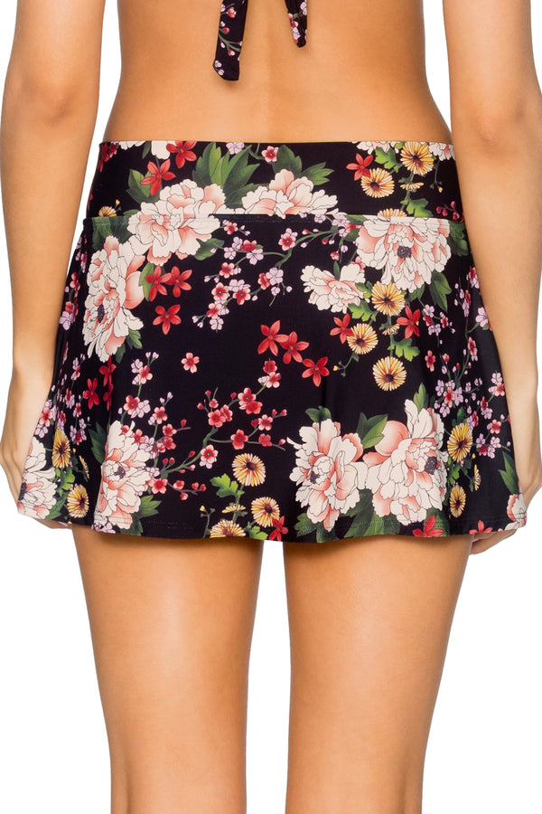 Sunsets Sakura Fields Summer Lovin' Swim Skirt Bottom