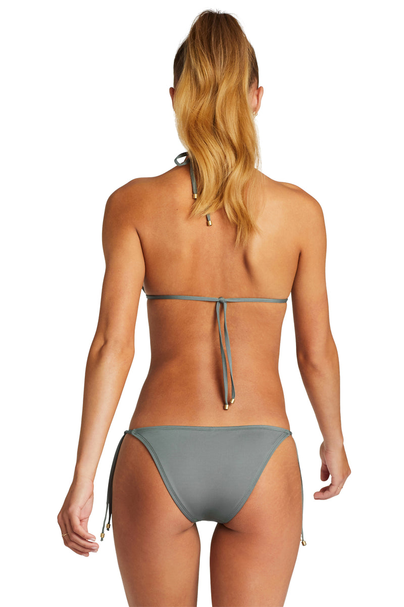 Vitamin A Sea Green EcoLux Elle Tie Side Bottom