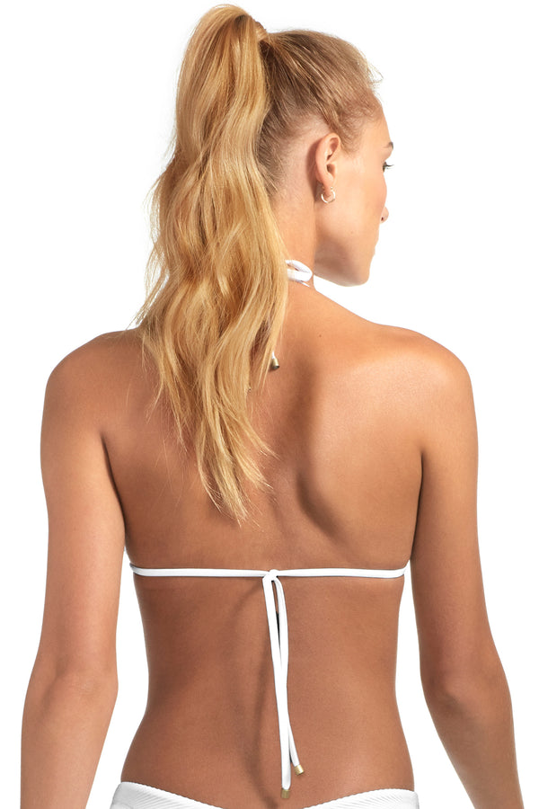 Vitamin A White BioRib Gia Reversible Triangle Top