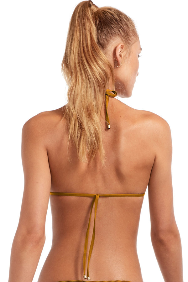 Vitamin A Amber Bio Rib Gia Reversible Triangle Top