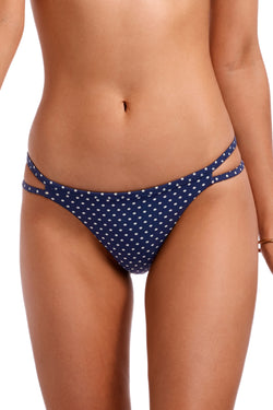 Vitamin A Rumba Dots Deep Blue Bonita Bottom