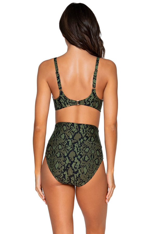 Sunsets Snake Charmer Carmen D-H Cup Underwire Top