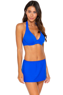 Sunsets Imperial Blue Kokomo Swim Skirt Bottom