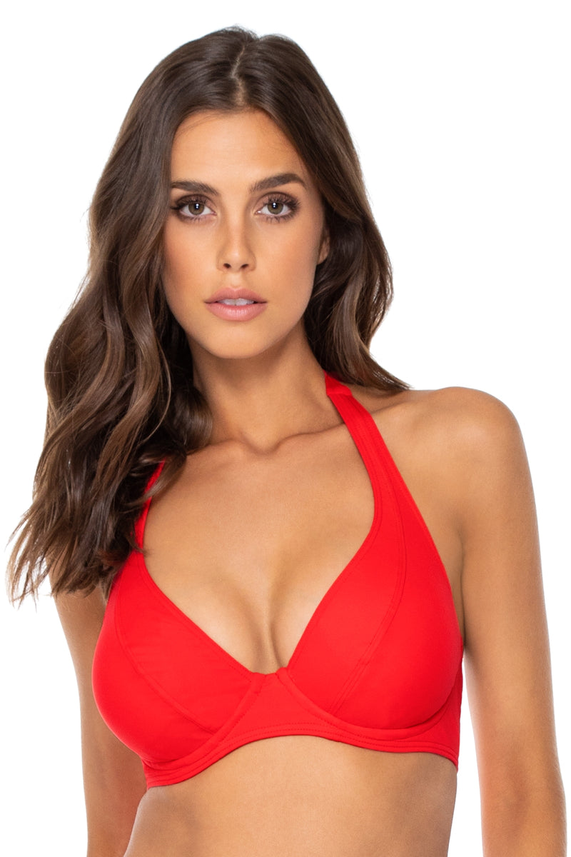 Sunsets Scarlet Muse Underwire D-H Cup Top