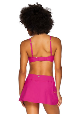 Sunsets Pitaya Sporty Swim Skirt Bottom