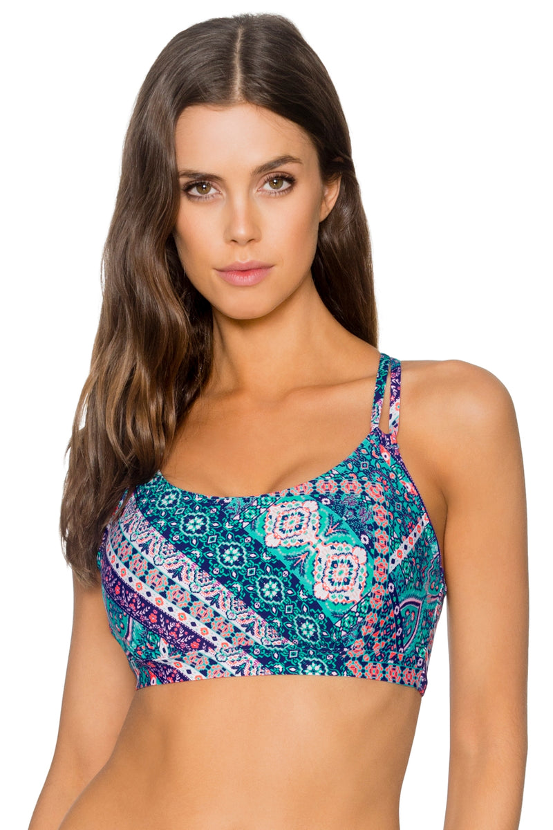 Sunsets Grand Bazaar Taylor Bralette D-H Cup Top