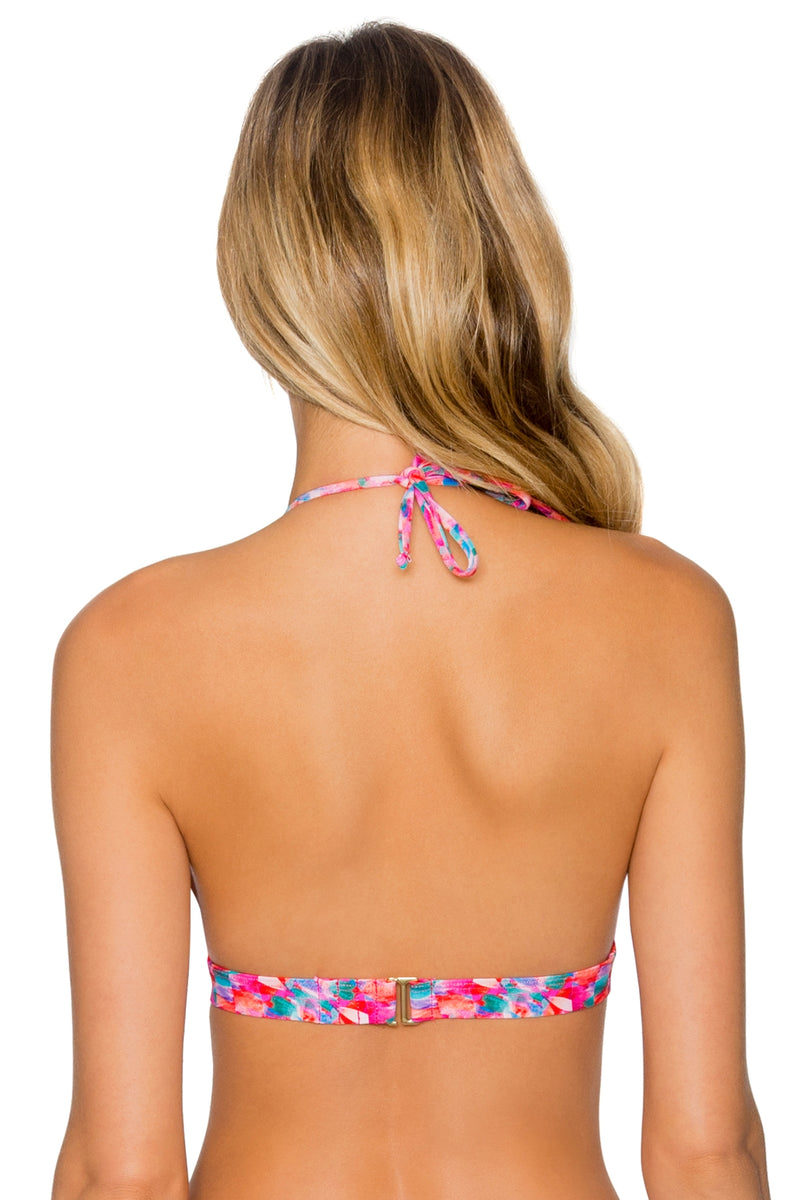 Sunsets Kaleidoscope Halle Halter Top