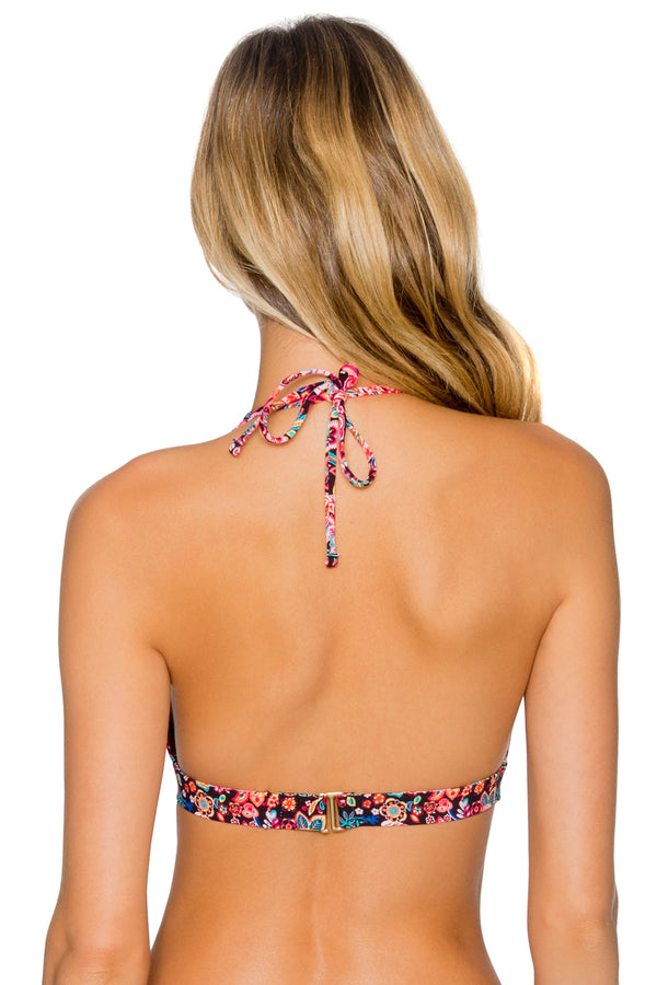 Sunsets London Calling Halle Halter Top