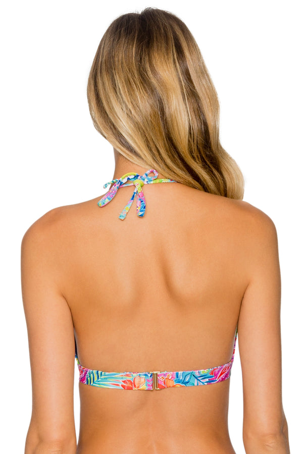 Sunsets Siesta Key Halle Halter Top